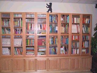complete bookcase,small